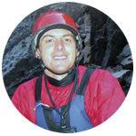 Sierra Mac rafting guide Aaron Cavagnolo