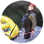 Sierra Mac whitewater rafting guide Aly Rogers