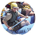 Rafting guide Andrew McDonnell