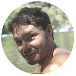 Experienced Sierra Mac rafting guide Danny Salazar