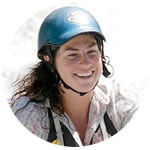 Sierra Mac rafting guide Jennifer Cook