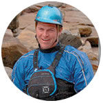 Whitewater rafting guide Tom McDonnell