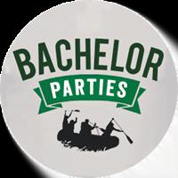 California Rafting Trip bachelor parties