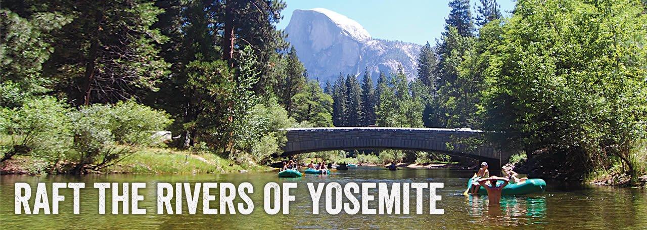 Raft the Rivers of Yosemite National Park