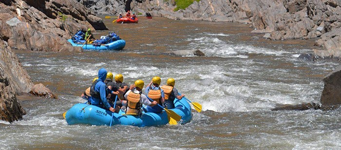 Tuolumne River rafting suitable for beginners