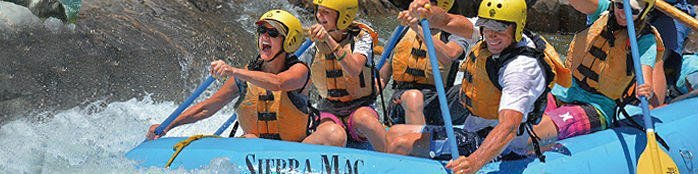 Main Tuolumne Rafting Trips