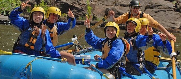 Rafting Tour on Merced River near Yosemite