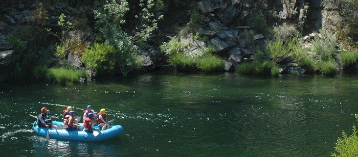 A calm section on the Merced River