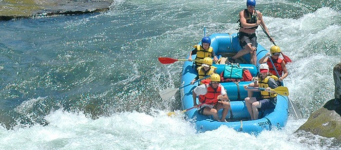 1-Day rafting trip on the Wild & Scenic Merced River