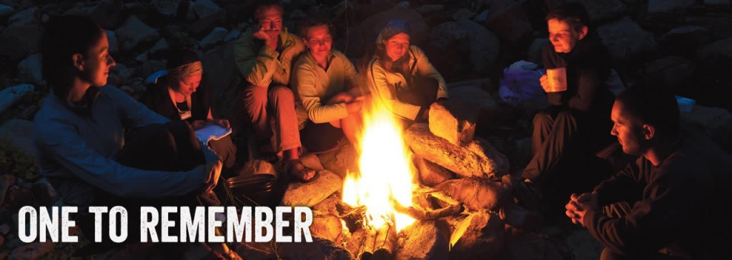Camp overnight on a Yosemite rafting trips