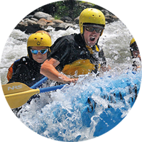 Whitewater rafting on the Main Tuolumne River