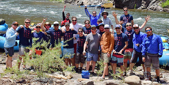 Rafting trips make great bachelor parties