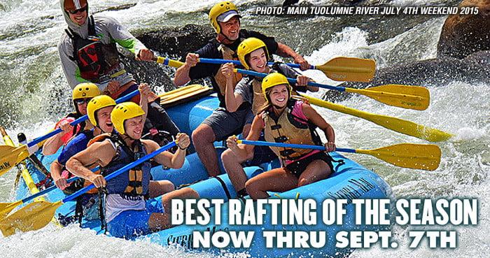 Main Tuolumne River Rafting