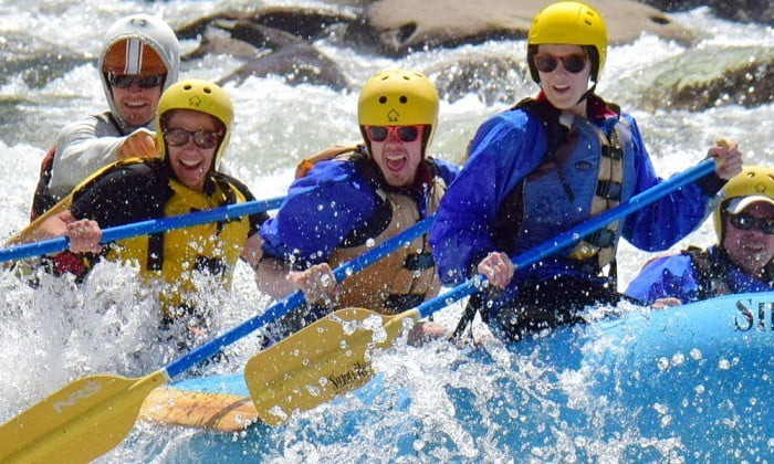 2015 rafting on the Tuolumne River