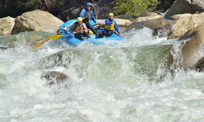 Great view of Cherry Creek rapids