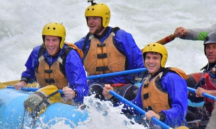 Rafting brings people together