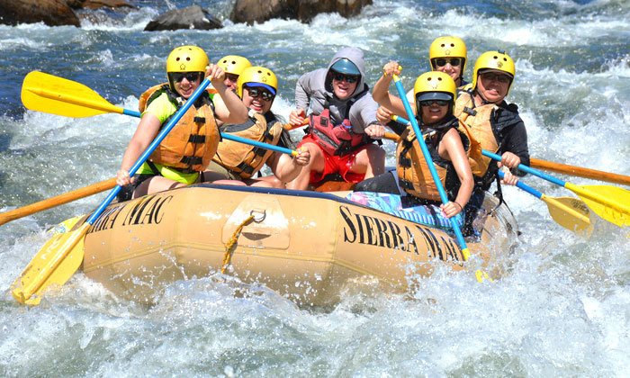 Yosemite Rafting trip options, Merced, Tuolumne. Cherry Creek