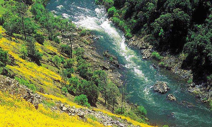 Yosemite spring rafting, merced river rafting