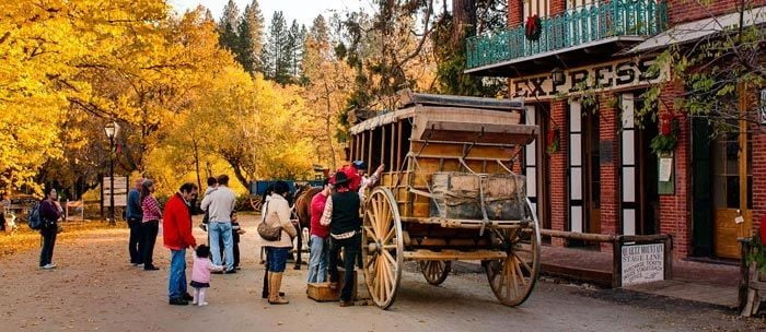 Columbia State Park, Gold Rush Town
