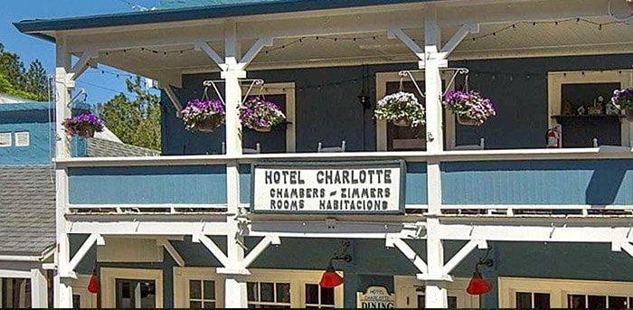 Hotel Charlotte, Groveland California