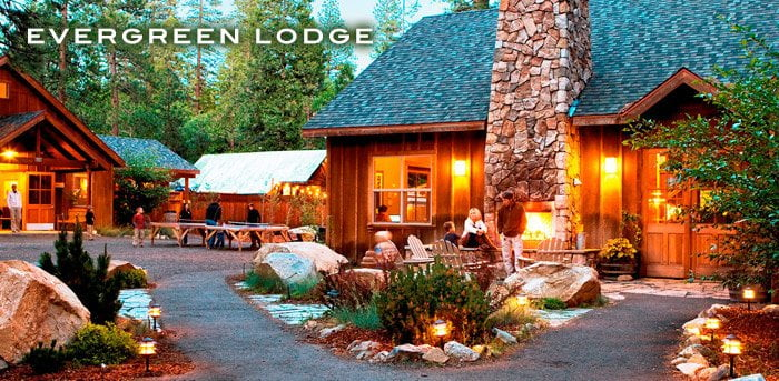 Evergreen Lodge. Yosemite