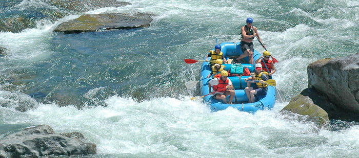 Merced River Rafting 1-Day Trip