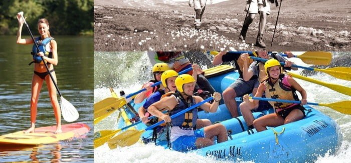 Hike, Raft, and Stand Up Paddle on a 2 or 3-Day Tuolumne Multisport Adventure