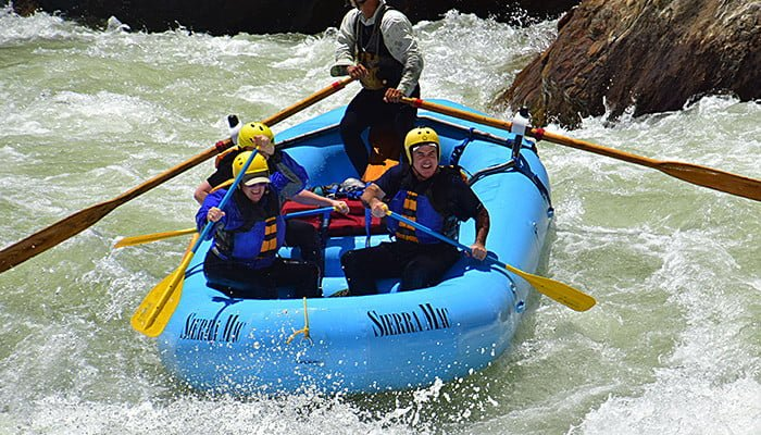 Clavey Falls Rapid Tuolumne River