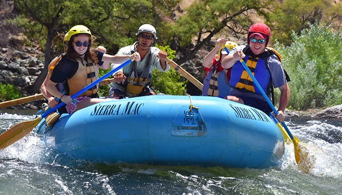 Fathers Day rafting trip on the Tuolumne River
