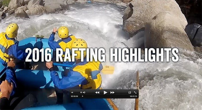 Sierra Mac Yosemite Rafting Highlights Video