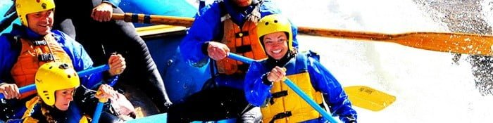 Rafting on the Main Tuolumne River