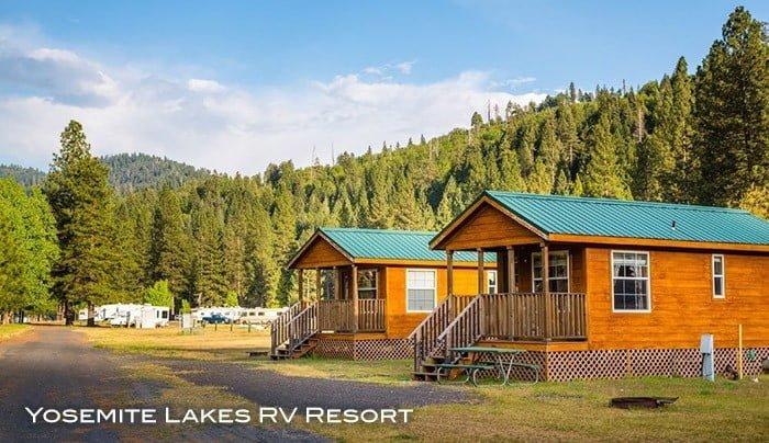 Cabins at Yosemite Lakes RV Resort