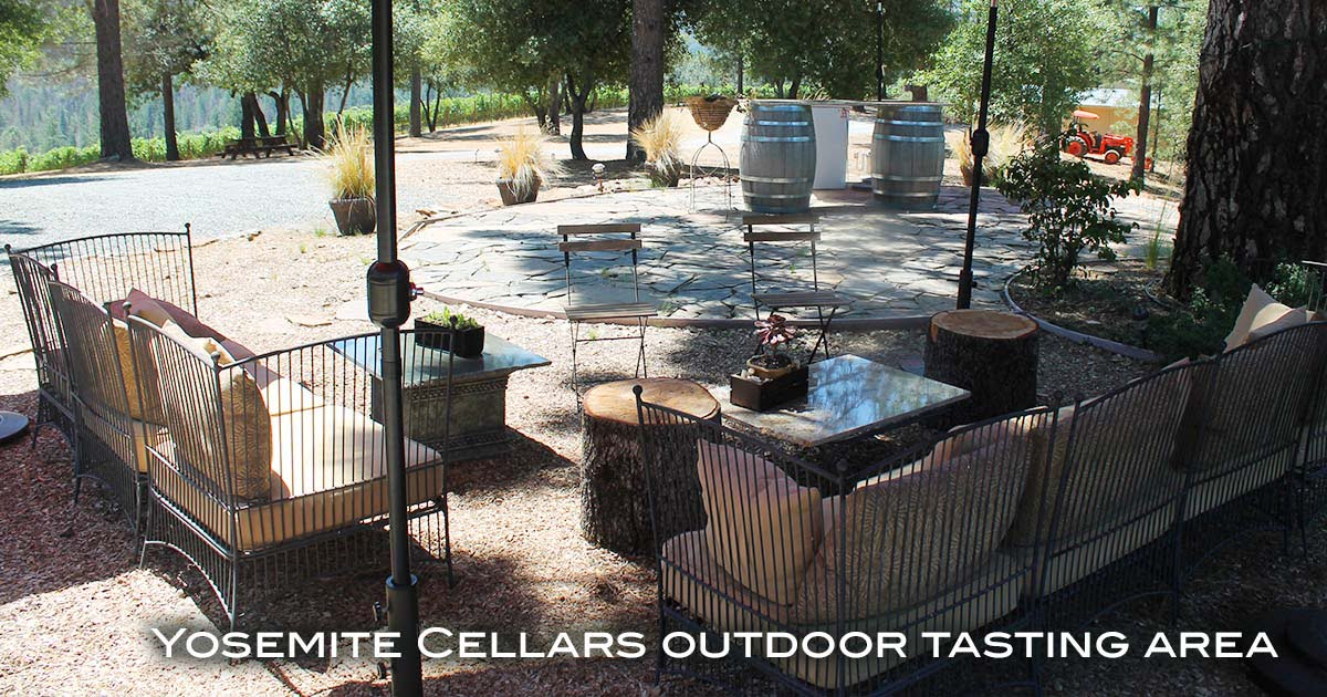 Yosemite Cellars Wine Tasing near Groveland
