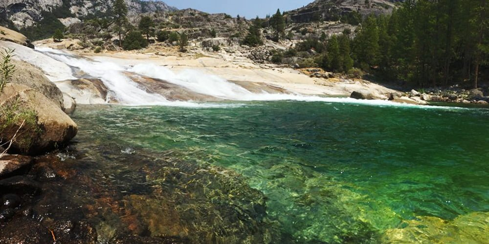 Grand Canyon Tuolumne River swimmng spot