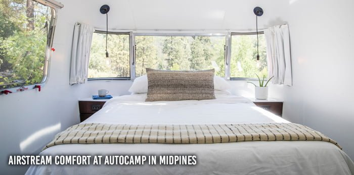 AutoCamp custom Airstream