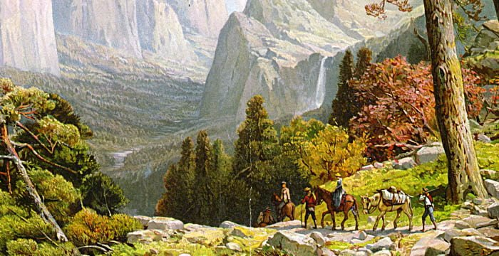 View of Yosemite National Park